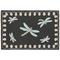 """Liora Manne Frontporch Dragonfly Indoor/Outdoor Rug Midnight 30""""X48"""""""