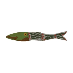 Funky Fish Wooden Wall Decor