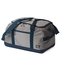Sailcloth Silver Spinnaker Racer Duffel, Silver with Blue Trim