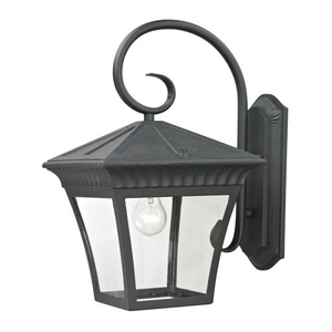 Ridgewood 1 Light Exterior Coach Lantern In Matte Textured Black