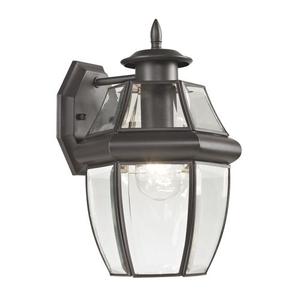 Ashford 1 Light Exterior Coach Lantern In Oil Rubbed Bronze