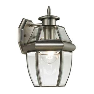 Ashford 1 Light Exterior Coach Lantern In Antique Nickel