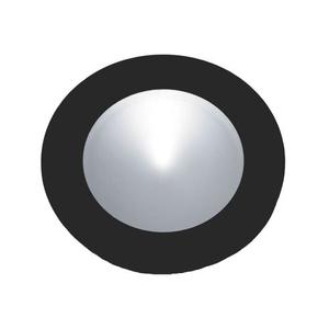 Ursa Collection 1 Light Disc Light In Black
