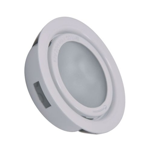 Aurora 1 Light Recessed Disc Light In White