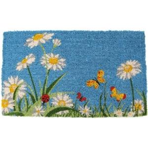 One Summer Day Hand Woven Coir Doormat