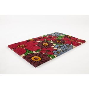 Forget-Me-Nots Non Slip Coir Doormat