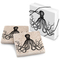 Octopus Marble Coasters Set Of 2