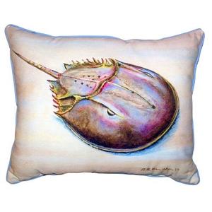 Horseshoe Crab Large Indoor Outdoor Pillow