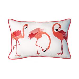 Flamingos Indoor Outdoor Pillow