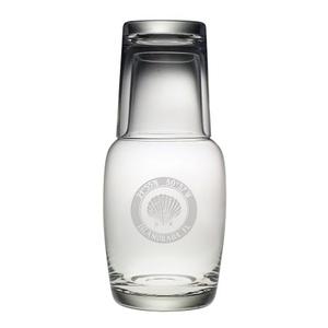 Custom Coordinates Seashell Night Bottle Set