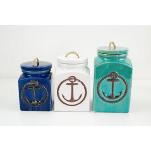 Anchor Ceramic Canister Set
