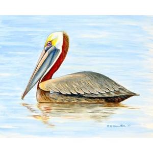Summer Pelican Doormat 18X26