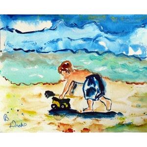 Boy & Toy Doormat 18X26