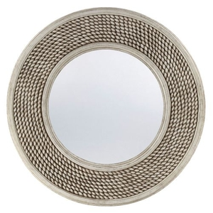 Round Rope Mirror 40 Inches