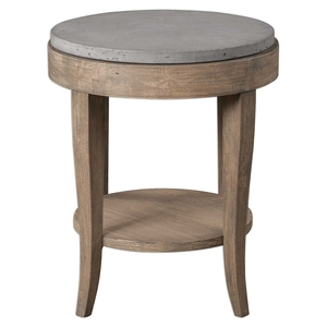 Uttermost Deka Round Accent Table