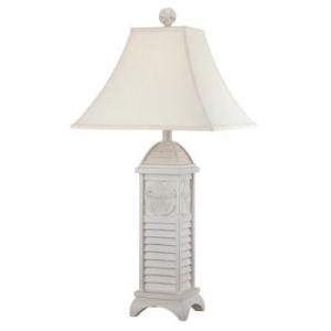 Sand Dollar Shutter Lamp
