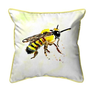 Bee Extra Large Zippered Pillow 22x22