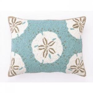 Sand Dollars Hook Pillow