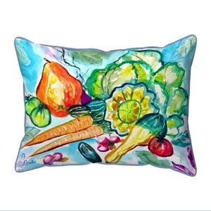 Still Life Extra Large Zippered Pillow 20x24