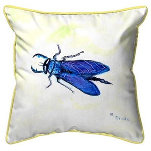 House Fly Extra Large Zippered Pillow 22x22