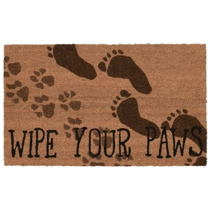 "Liora Manne Natura Wipe Your Paws Indoor/Outdoor Mat Natural 18""X30"""