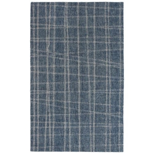 Liora Manne Savannah Mad Plaid Indoor Rug Blue 5'X7'6""