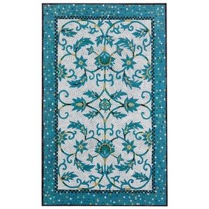 Liora Manne Visions IV Palazzo Indoor/Outdoor Rug Blue 5'X8'