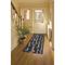 """Liora Manne Frontporch Bistro Indoor/Outdoor Rug Slate 24""""X60"""""""