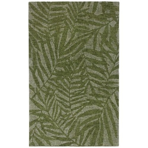Liora Manne Savannah Olive Branches Indoor Rug Green 24 in. x 36 in.