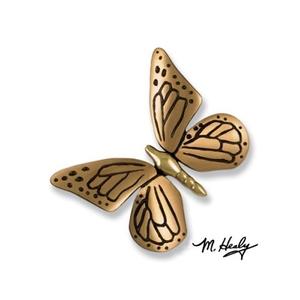 Monarch Butterfly Door Knocker, Brass/Bronze (Premium)