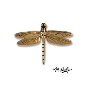 Dragonfly in Flight Door Knocker, Brass/Bronze (Premium)