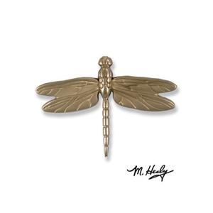 Dragonfly in Flight Door Knocker, Nickel Silver (Premium)