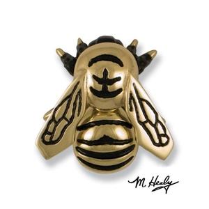 Bumblebee Door Knocker, Brass (Premium)