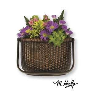 Nantucket Basket Door Knocker, Oiled Bronze (Premium)