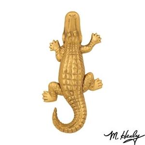 Alligator Door Knocker, Brass (Premium)