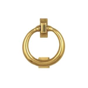 Ring Door Knocker, Brass (Premium)
