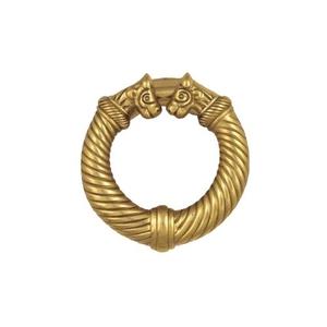 Celtic Torc Door Knocker, Brass (Premium)