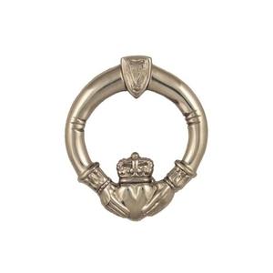 Claddagh Door Knocker, Nickel Silver (Premium)