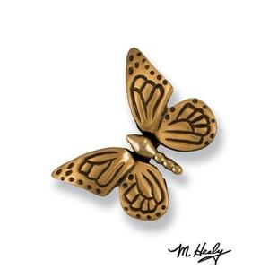 Monarch Butterfly Doorbell Ringer, Brass/Bronze
