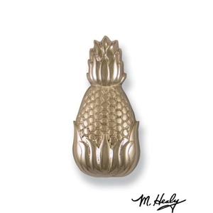 Hospitality Pineapple Doorbell Ringer , Nickel Silver