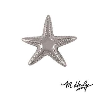 Starfish Doorbell Ringer, Nickel Silver