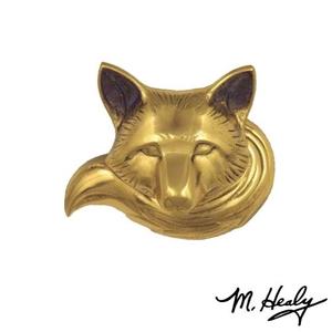 Fox Doorbell Ringer, Brass