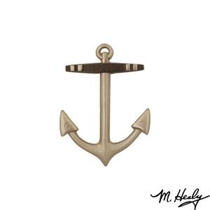 Anchor Door Knocker, Nickel Silver (Standard)
