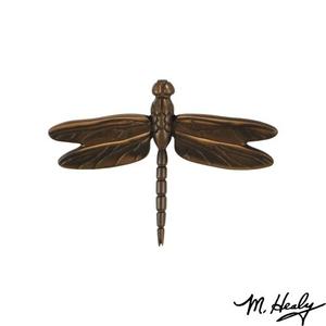 Dragonfly in Flight Door Knocker, Oiled Bronze (Standard)