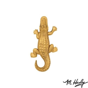 Alligator Door Knocker, Brass (Standard)