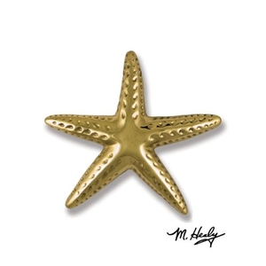 Starfish Door Knocker, Brass (Premium)
