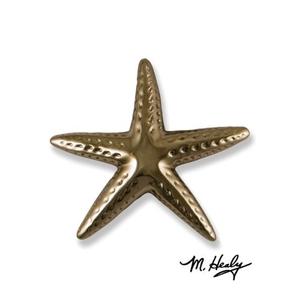 Starfish Door Knocker, Nickel Silver (Premium)