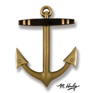 Anchor Door Knocker, Brass/Bronze (Premium)