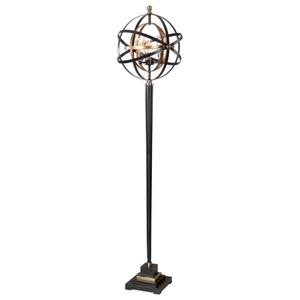 Uttermost Rondure Sphere Floor Lamp