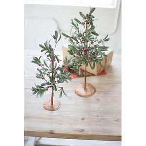 Artificial Mistletoe Trees Set of Two